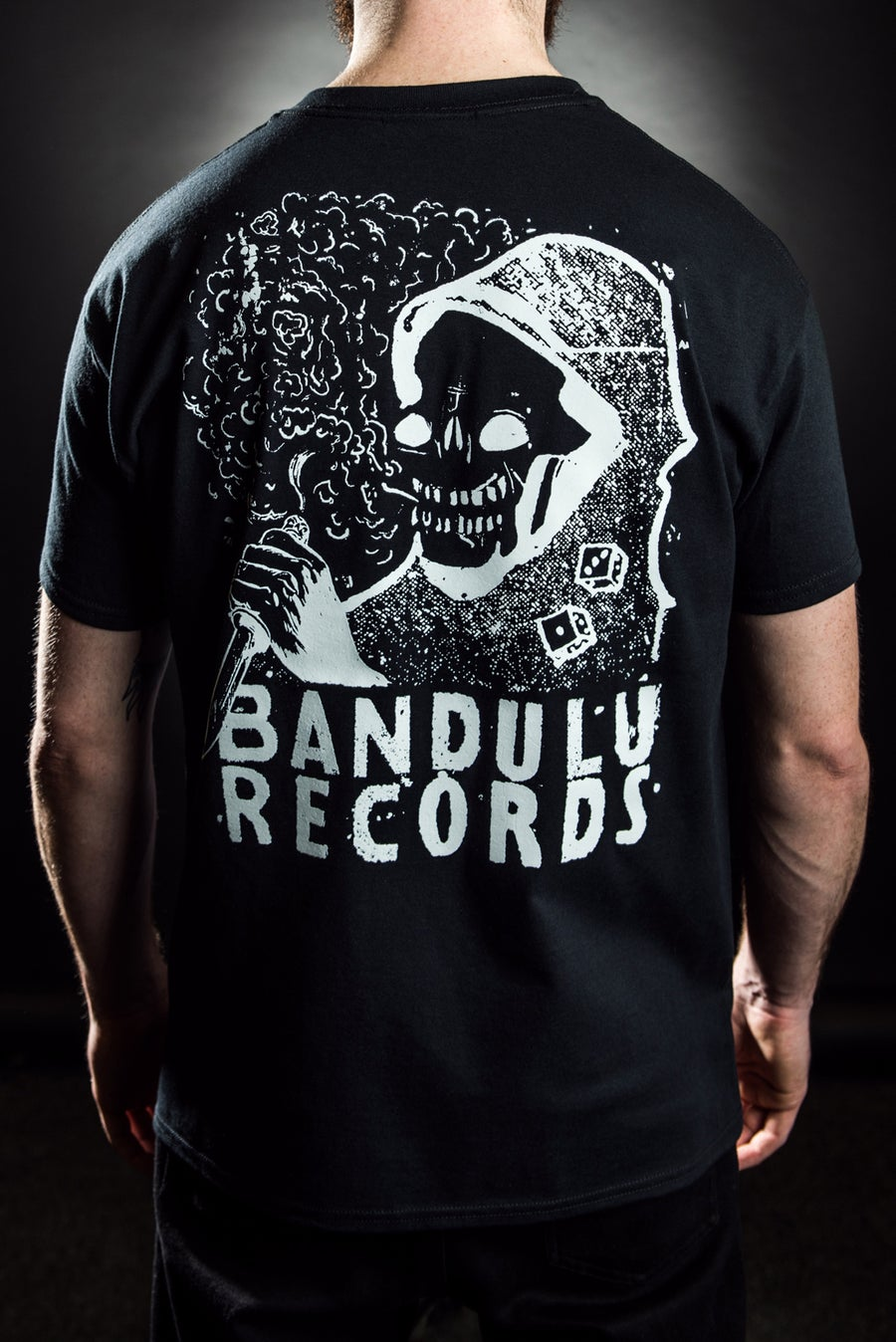 Image of BANDULU KNIFE & DICE TEE