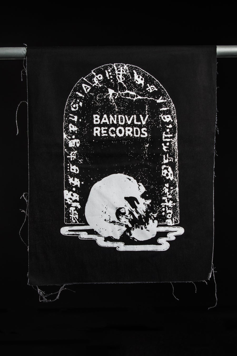 Image of BANDULU - LARGE SEW-ON PATCH (GRAVE DIGGER)
