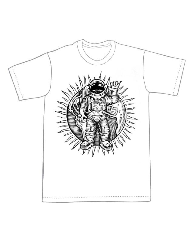 Astronaut T-shirt  (B3)**FREE SHIPPING**