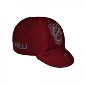 Image of Cinelli CREST BURGUNDY CAP