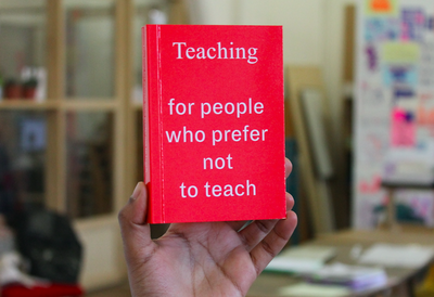 Image of Teaching for people who prefer not to teach