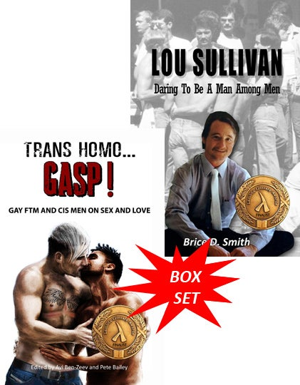 Image of BOX SET  TRANS HOMO and LOU SULLIVAN
