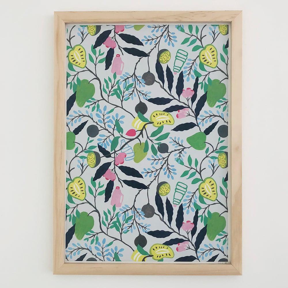 Image of Fruits of Sri Lanka big print