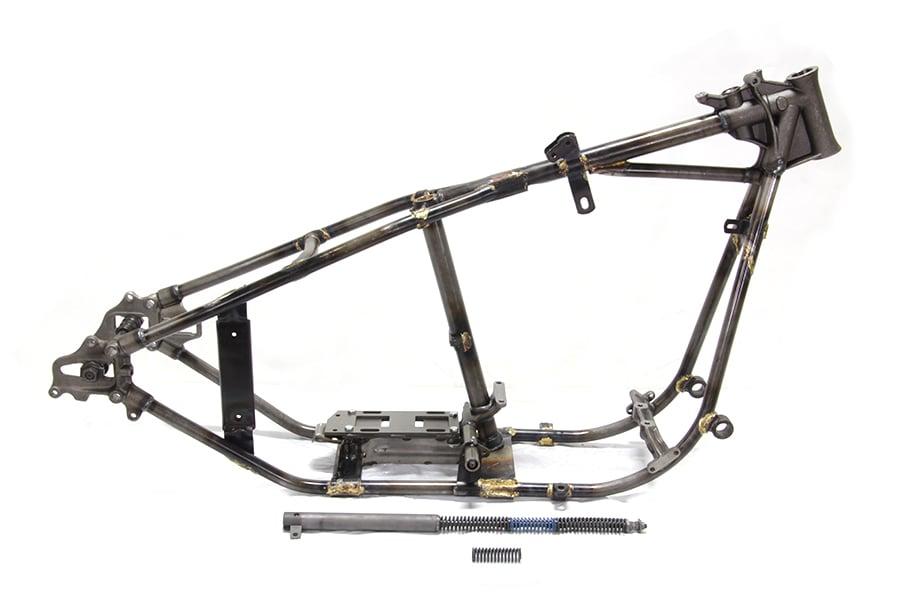 give it full throttle  u2014 1936 harley davidson knucklehead el replica frame 28 u00b0