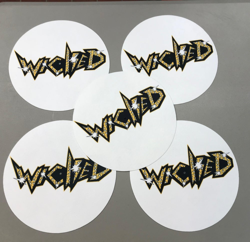 Image of WICKED Record Slipmats