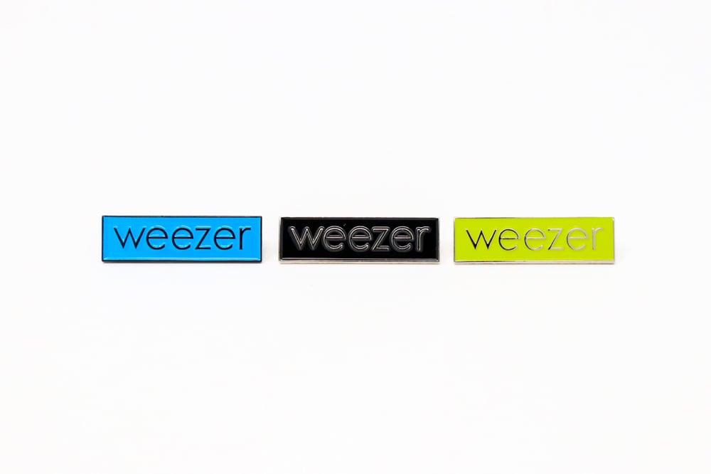 Image of Weezer Logo Enamel Pin
