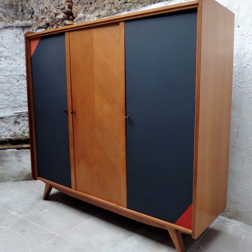 Image of Grande armoire 60' en chêne