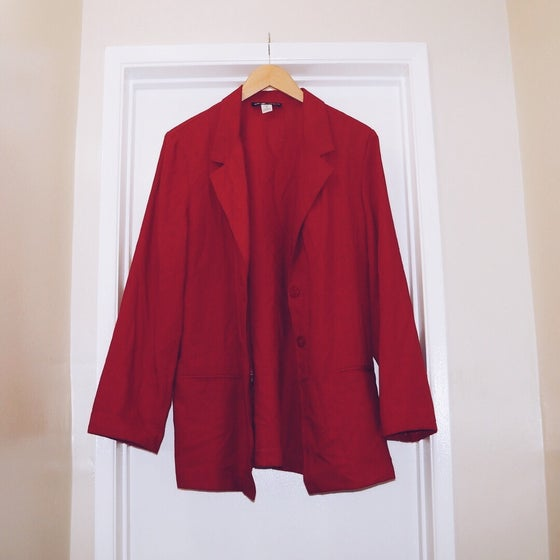 Image of Red Blazer