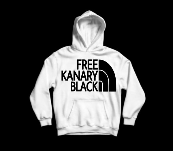 Image of Free Kanaryblack hoodie