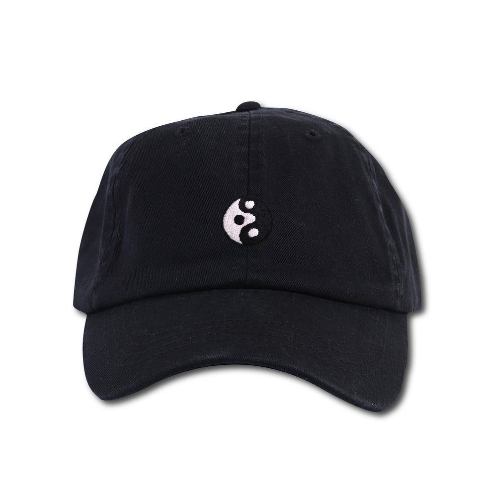 "Image of TAKEGOODCARE™ ""YINYANGISH"" CAP BLACK"