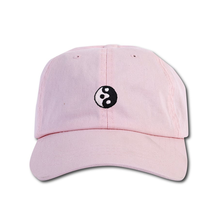 "Image of TAKEGOODCARE™ ""YINYANGISH"" CAP PINK"