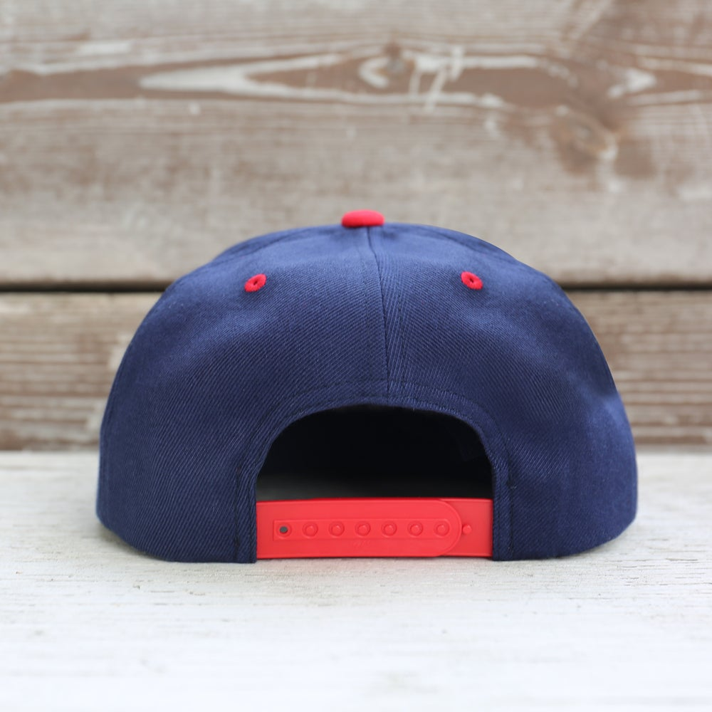 Image of HERUN - NAVY/RED