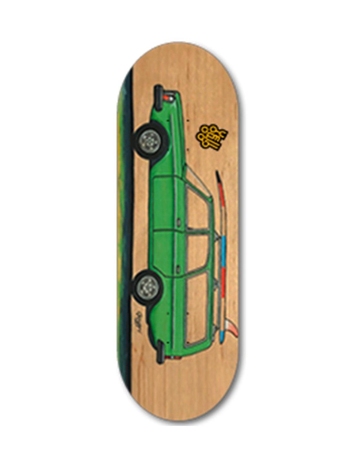 Yellowood 245dl Fingerboard Deck 34mm Fingerboards Uk