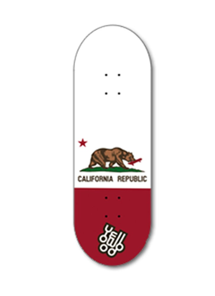 Image of Yellowood 'Cali' Fingerboard Deck 34mm