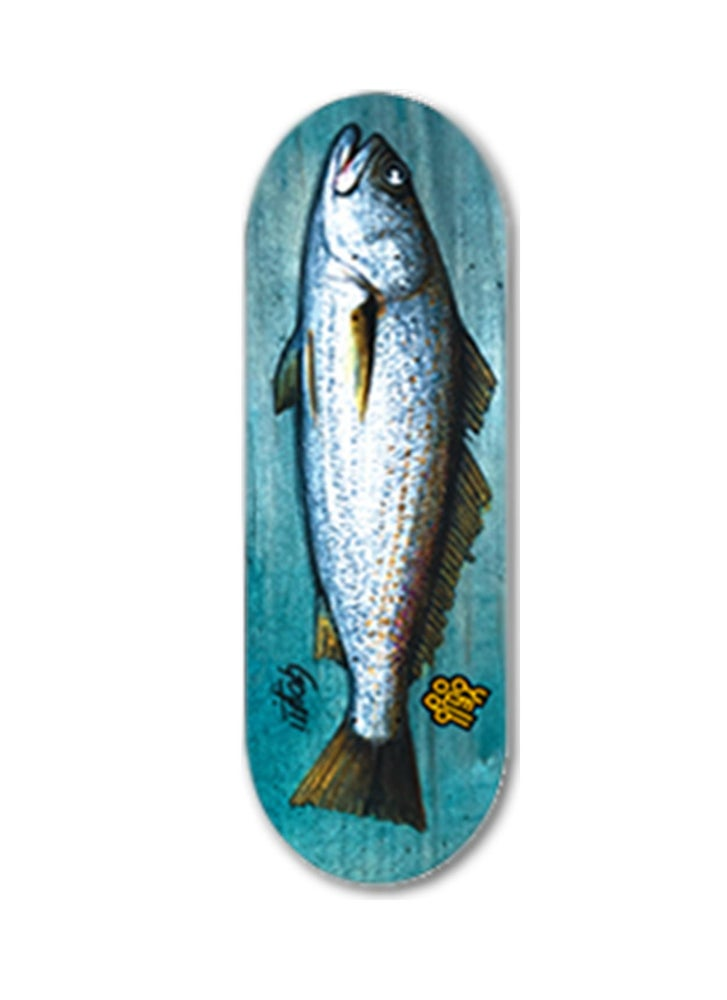 Image of Yellowood 'Corvina' Fingerboard Deck 34mm