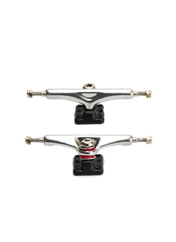 Image of YTrucks X5 34mm Trucks Gunmetal/Chrome