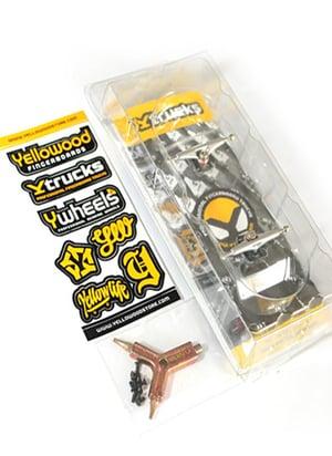 Image of YTrucks X5 34mm Trucks Gold/Chrome