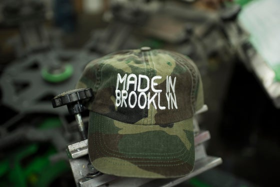 Image of Made In Brooklyn  dad hat w/ high density embroidery