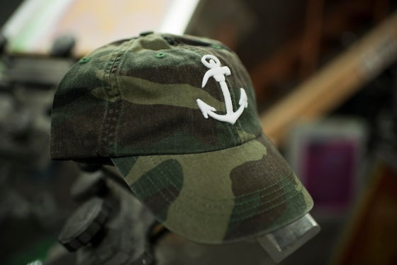 "Image of Made In Brooklyn ""The Original"" Anchor dad hat w/ high density embroidery"