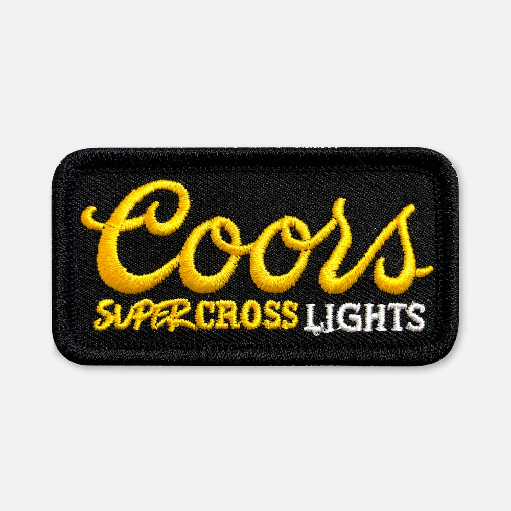 Image of SMALL SIZE SUPERCROSS LIGHTS PATCH