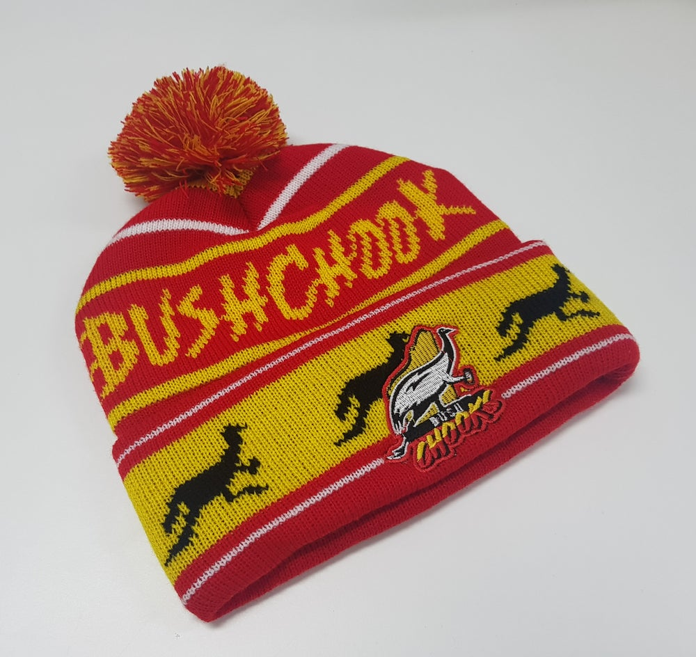 Image of New Bushchook Knitted Beanies (Available with or without pom poms!)
