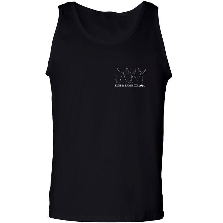 Image of Hook & Bag Em' Tank Top (black)