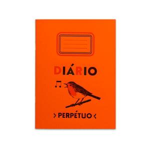 Image of Agenda - Abdeckung orange und Innenseite weiss