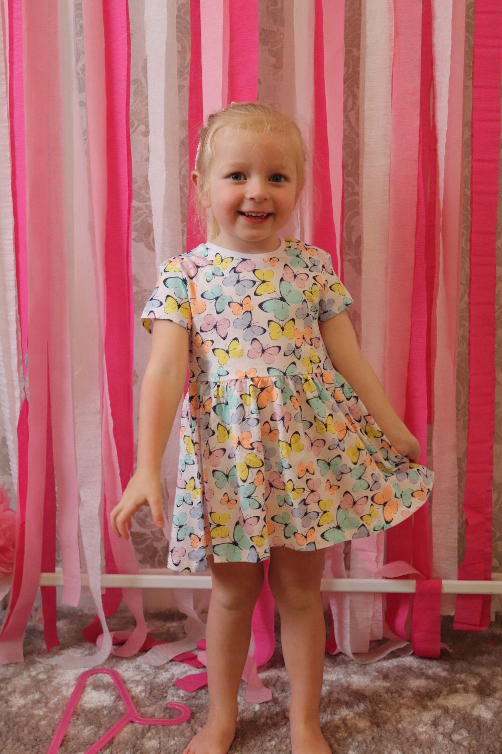 Image of Butterfly dress
