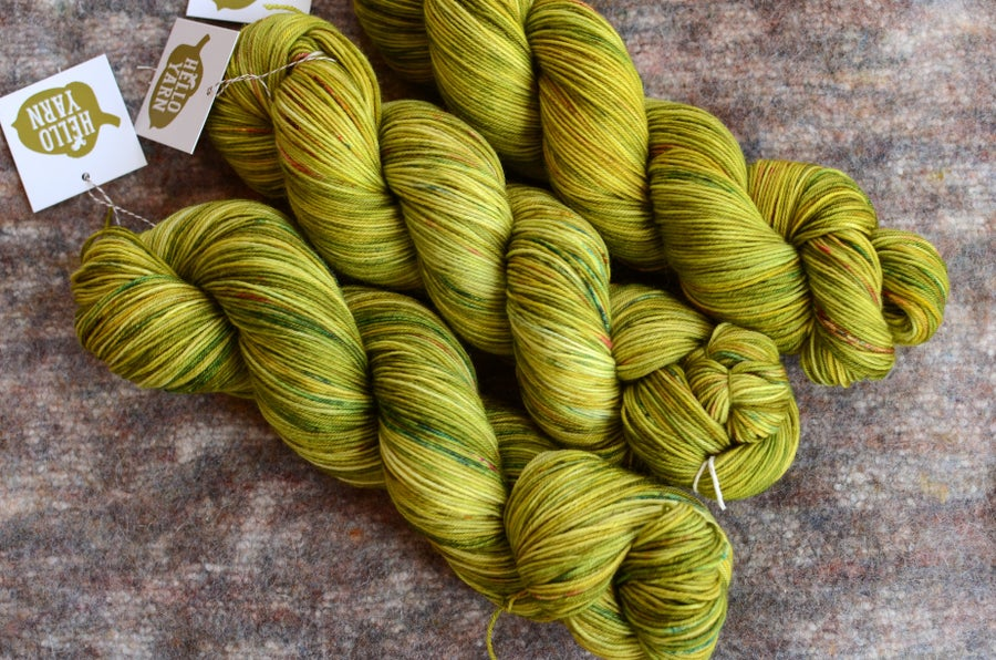 "Image of ""Cricket"" Original Hand-Dyed Tough Sock - 500 yards"