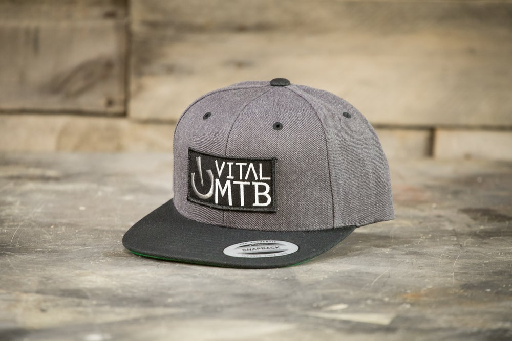 Image of Vital MTB Stack Snapback, Grey/Black