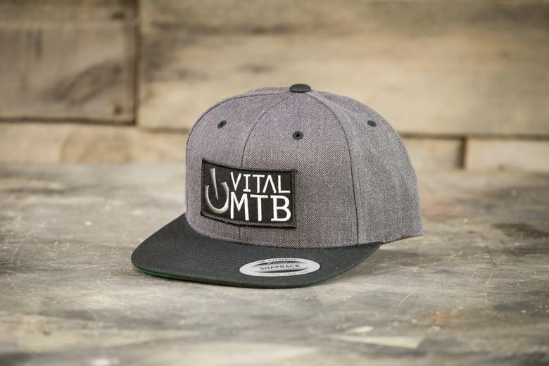 Image of Vital MTB Stack Snapback, Grey/Black