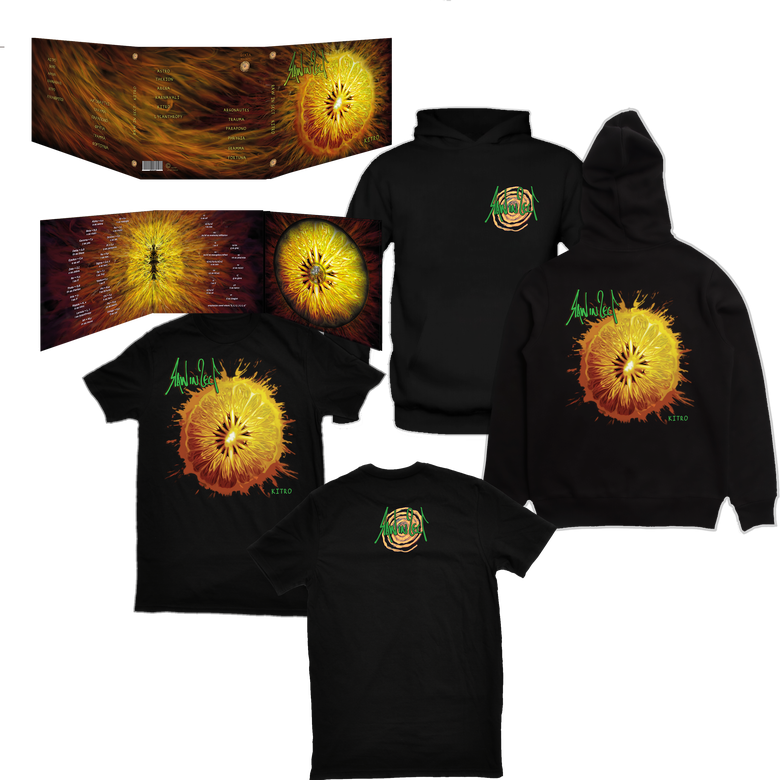 Image of BUNDLE 3 <br> - Kitro Digipack CD + Kitro T Shirt + Kitro Hoodie (Preorder - Expected on May 20)