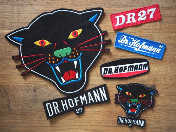 "Image of ""Pack SUPER COMBO Patches"" -  5 patches + Free stickers"