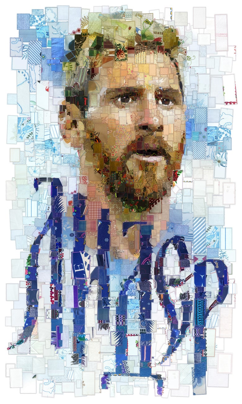 "Image of RUSSIA 2018 ""Лидер (Leader): The Lionel Messi (Argentina) portrait"""