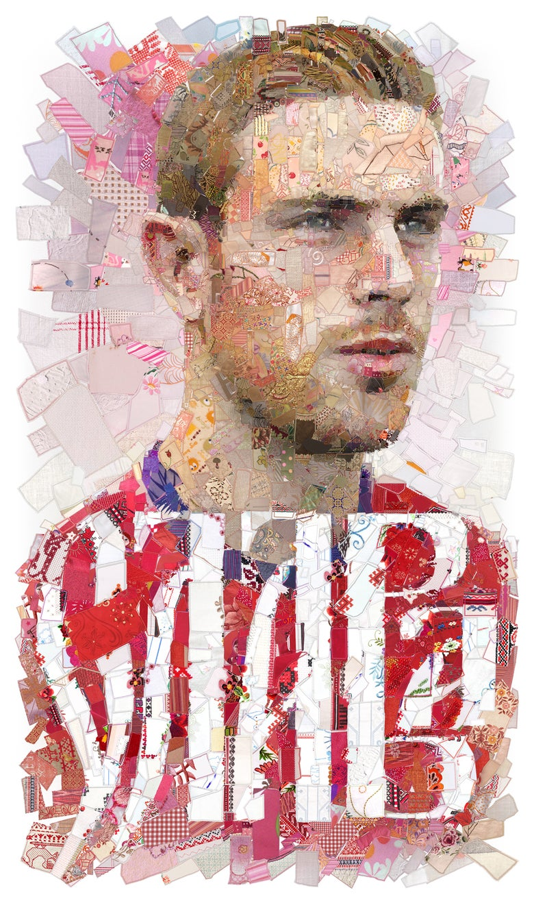 "Image of RUSSIA 2018 ""Слава (Glory): The Jordan Henderson (England) portrait"""