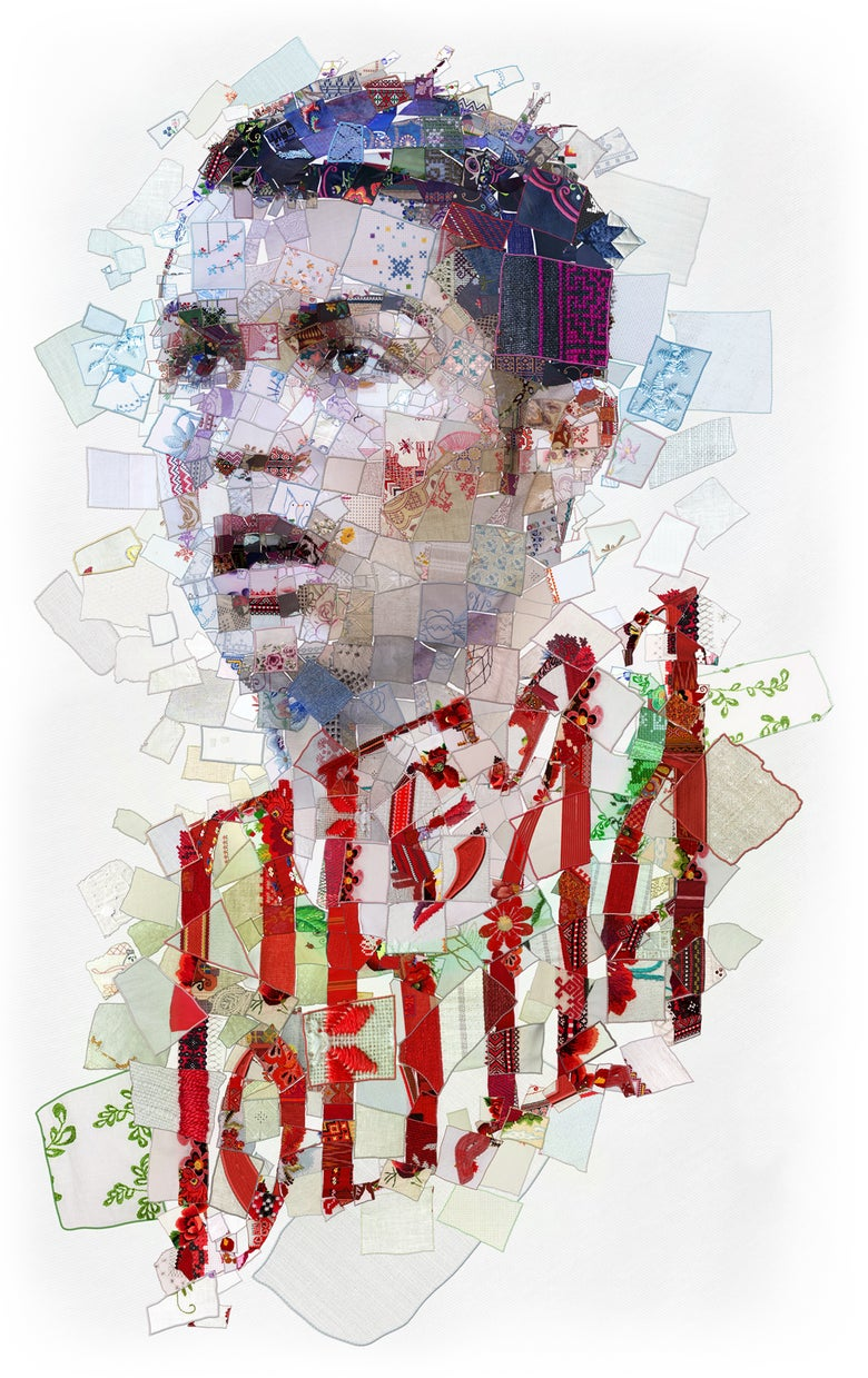 "Image of RUSSIA 2018 ""Победа (Victory): The Cristiano Ronaldo (Portugal) portrait"""