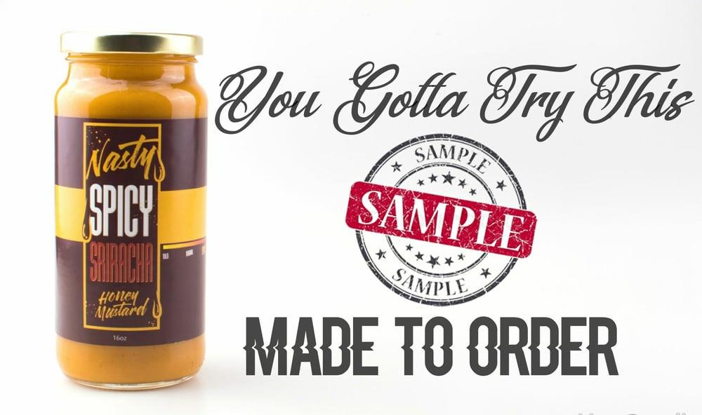 Image of Nasty Spicy Sriracha Honey Mustard (2oz Sample)