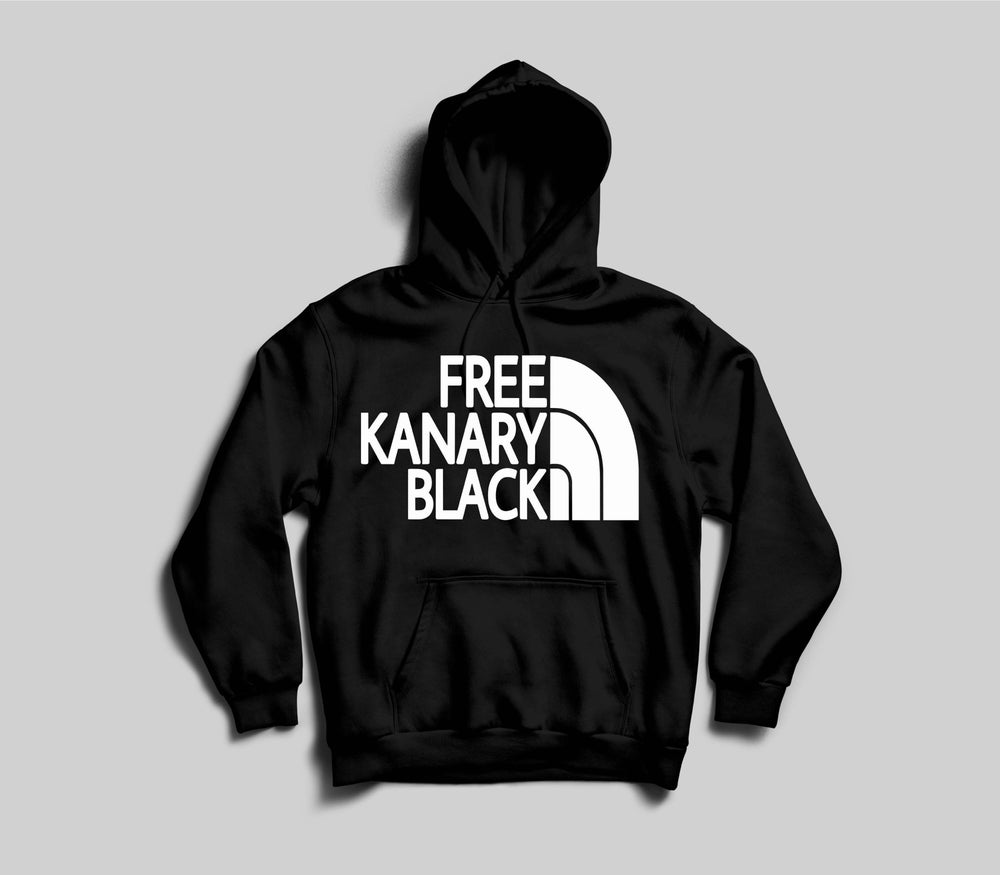 Image of Black free Kanary black hoodie