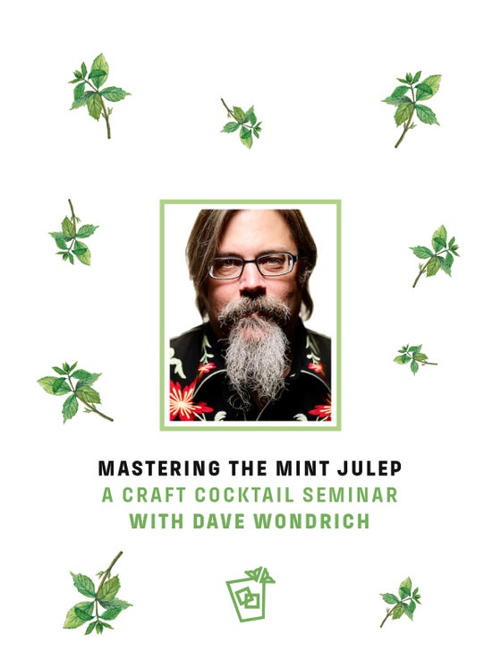 Image of MASTERING THE MINT JULEP SEMINAR, MAY 5