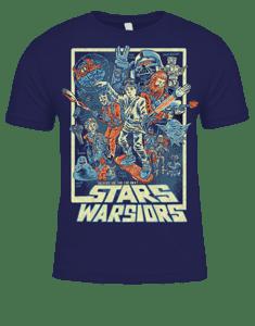 Image of Stars Warsiors T-Shirt
