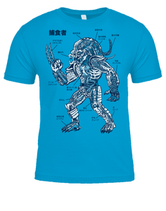 Image of ANATOMY OF THE PREDATOR T-SHIRT