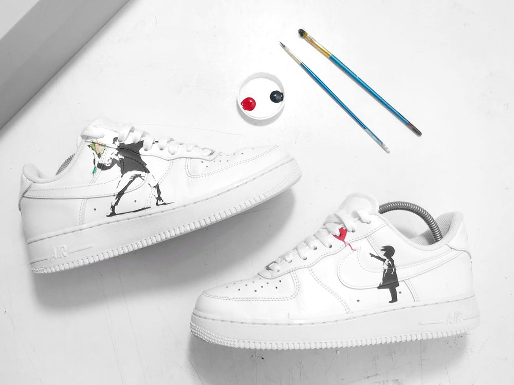 Image of The Nike Air Force 1 x Graffiti Custom