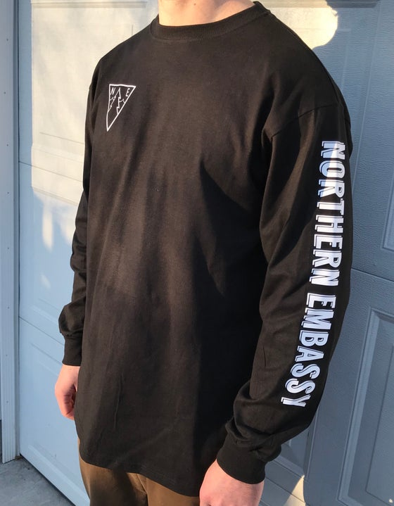 Image of Northern Embassy Long Sleeve/6 Sticker pack