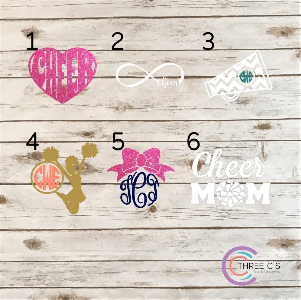 Image of Cheer Decals