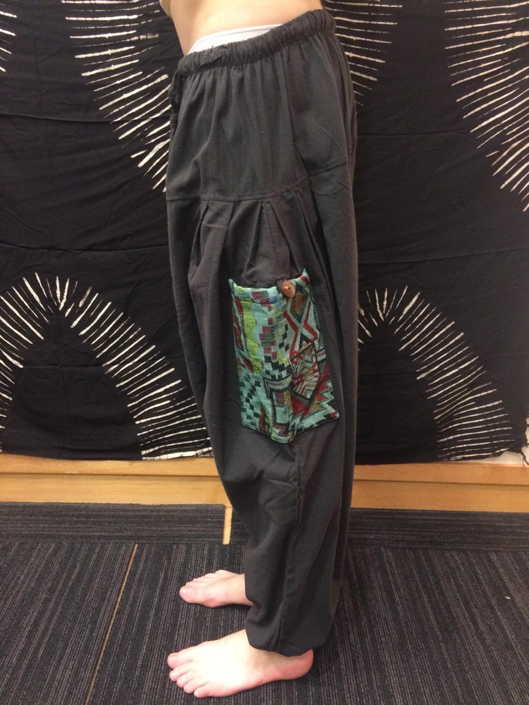 Image of Handloom Pocket Harem Pants