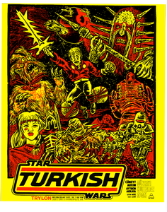 Image of Turkish Star Wars 18X24 Screenprint