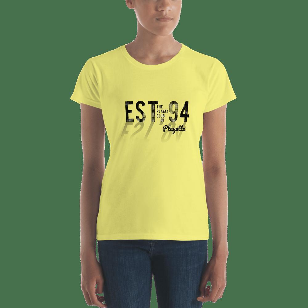 Image of Est. 94 - Women's T-shirt - Playette