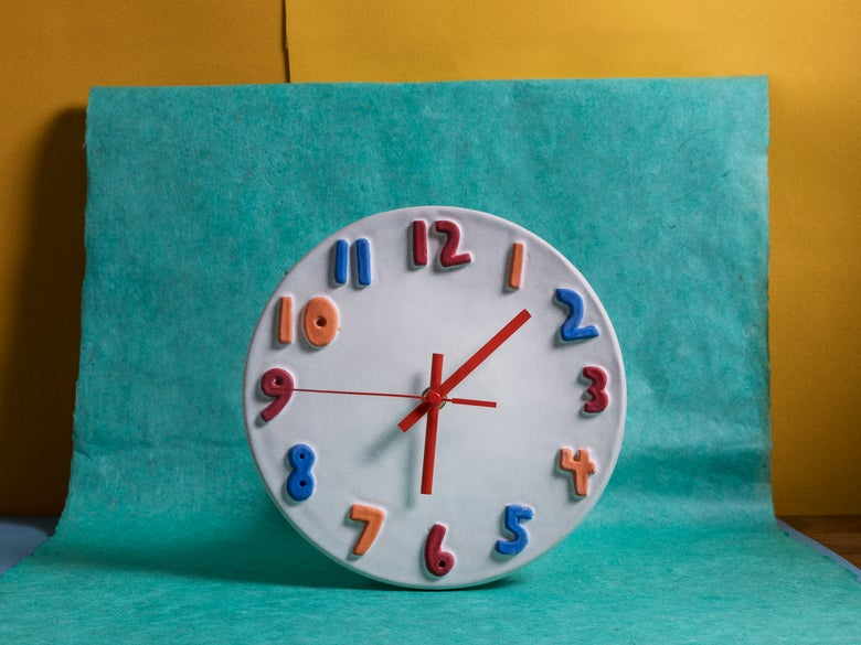 Image of Sesame Street Clock
