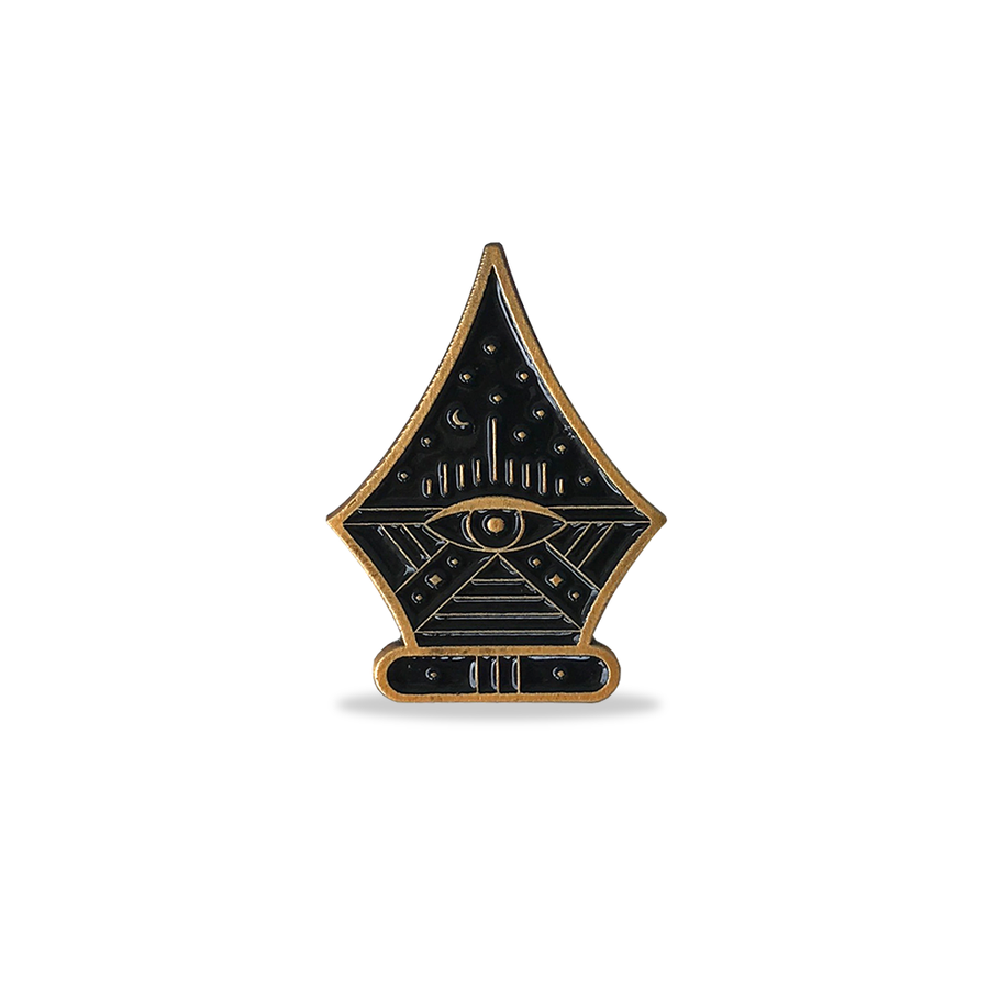 Image of The All Seeing Nib - Lapel Pin