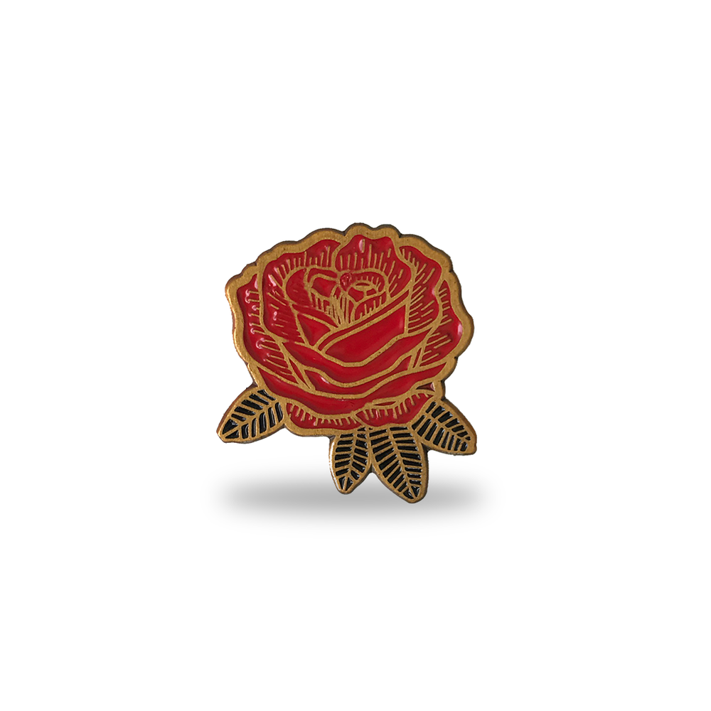 Image of Mighty Rose - Lapel Pin